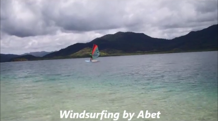 Windsurfing by Abet
