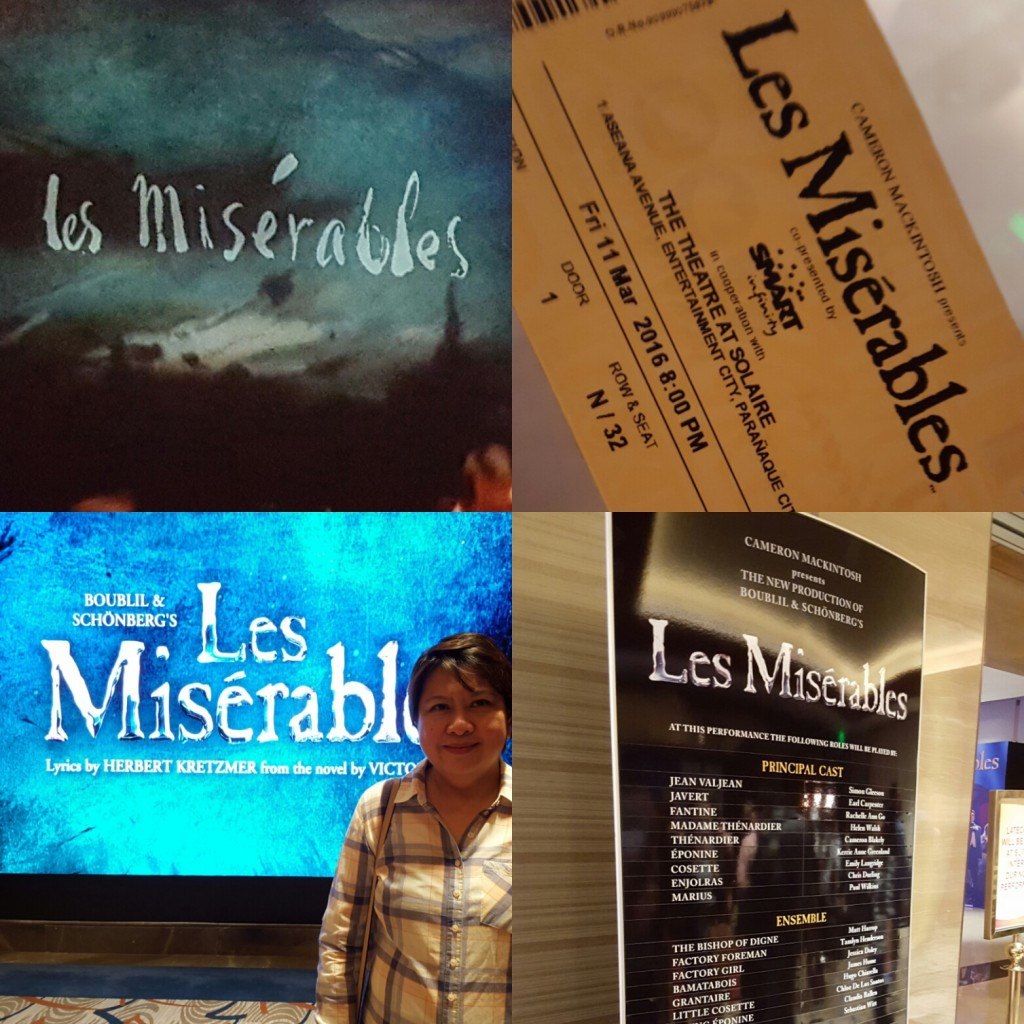 Les Miserables Opening Night