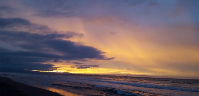 Tondaligan Beach Sunset